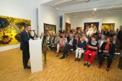 """Vernissage der Ausstellung / © ADAGP, Kunstverein """"Talstrasse"""",  2016"""