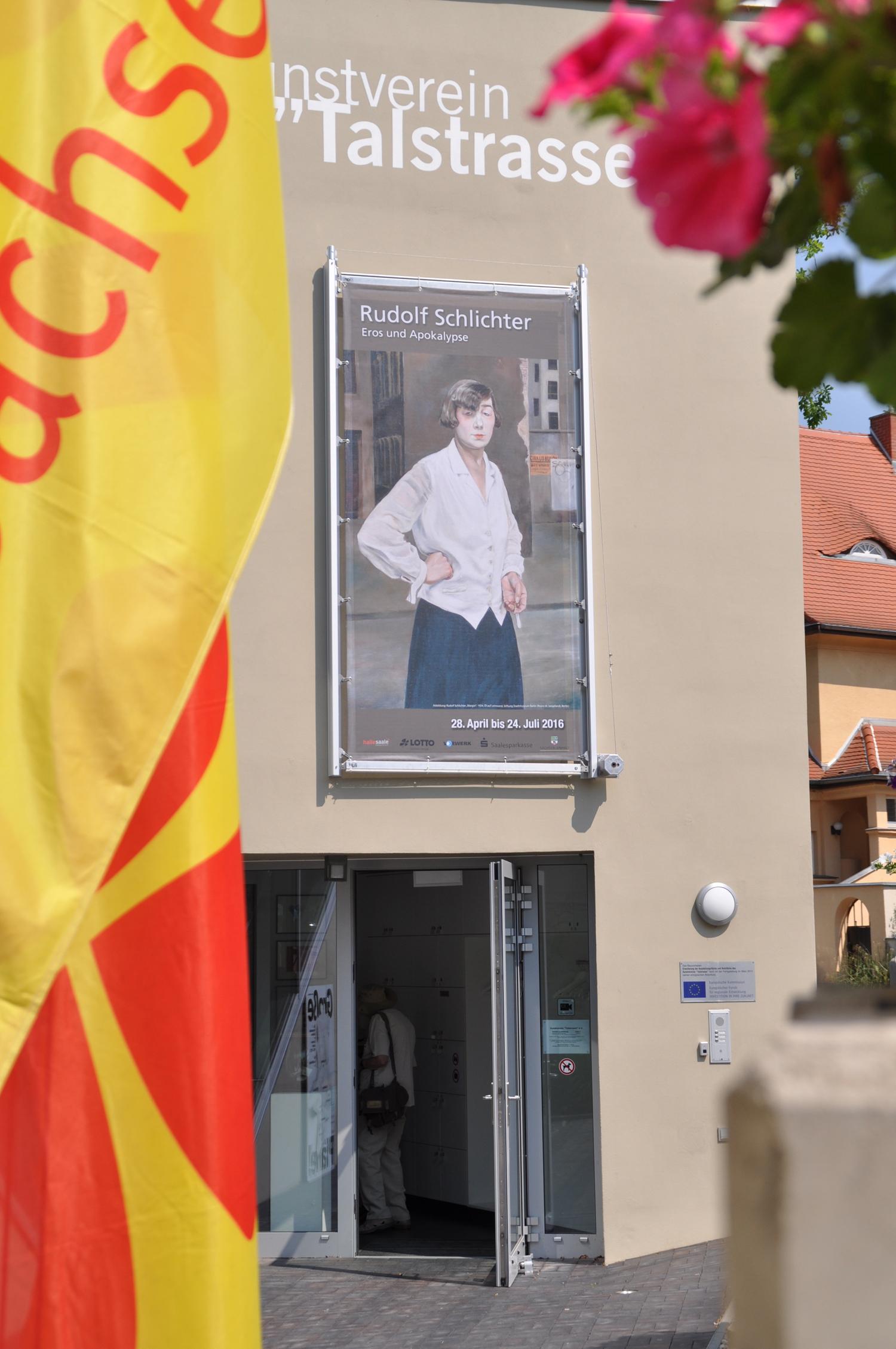 """Schlichter 2016 in der Kunsthalle """"Talstrasse"""" / © Viola Roehr-v. Alvensleben, München; Kunstverein """"Talstrasse"""" e.V., 2016"""