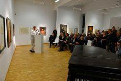 """Vernissage der Ausstellung/ © Viola Roehr-v. Alvensleben, München; Kunstverein """"Talstrasse"""" e.V., 2016"""