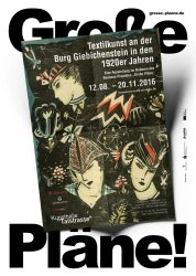 Poster zur selbigen Ausstellung / © Nachlass