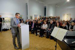 Matthias Rataiczyk zur Vernissage