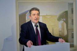 Staatssekretär Dr. Gunnar Schellenberger zur vernissage