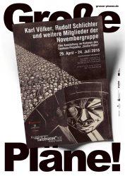 Poster zur selbigen Ausstellung / © Nachlass Karl Völker