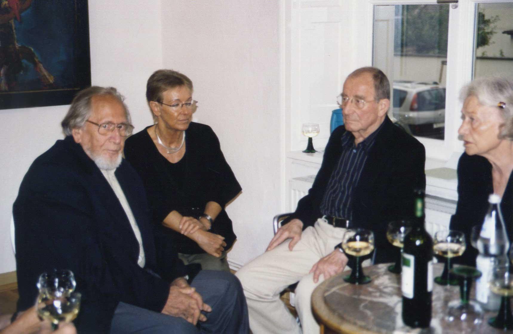 Bernhard Heisig begegnet Willi Sitte in seiner Ausstellung