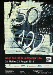 Poster zur selbigen Ausstellung / © Rolf Müller, 2015