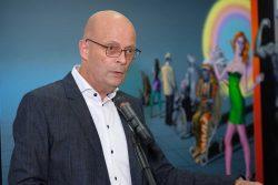 Vernissage der Ausstellung Oberbürgermeister Dr. Bernd Wiegand
