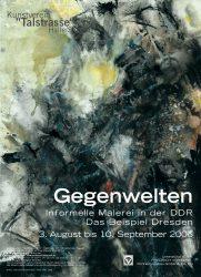 Poster zur selbigen Ausstellung / © Nachlass Schmidt-Kirstein. 2006