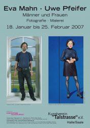 Poster zur selbigen Ausstellung / © E. Mahn - U.Pfeifer, 2007