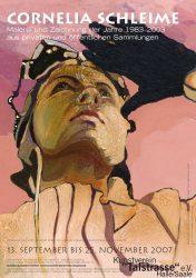 Poster zur selbigen Ausstellung / © Cornelia Schleime, 2007
