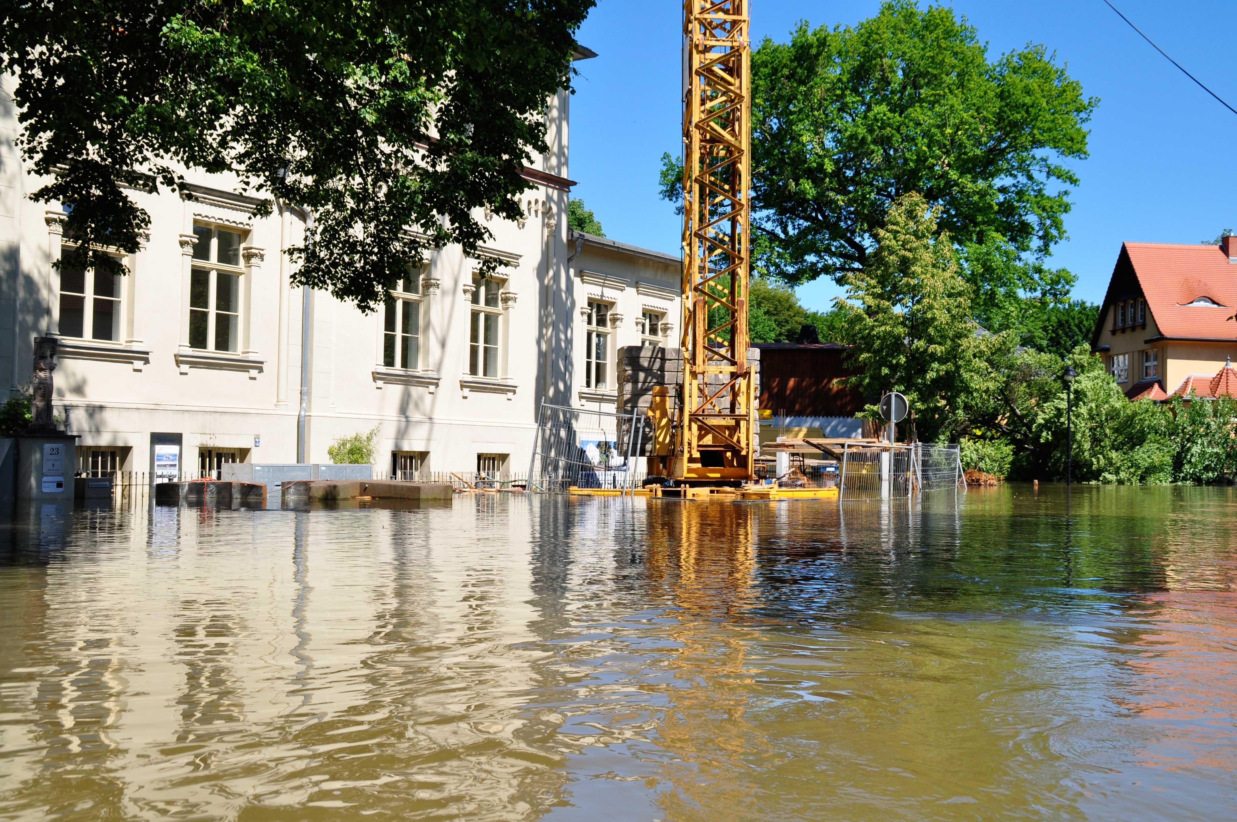 Saaleflut vom Juni 2013