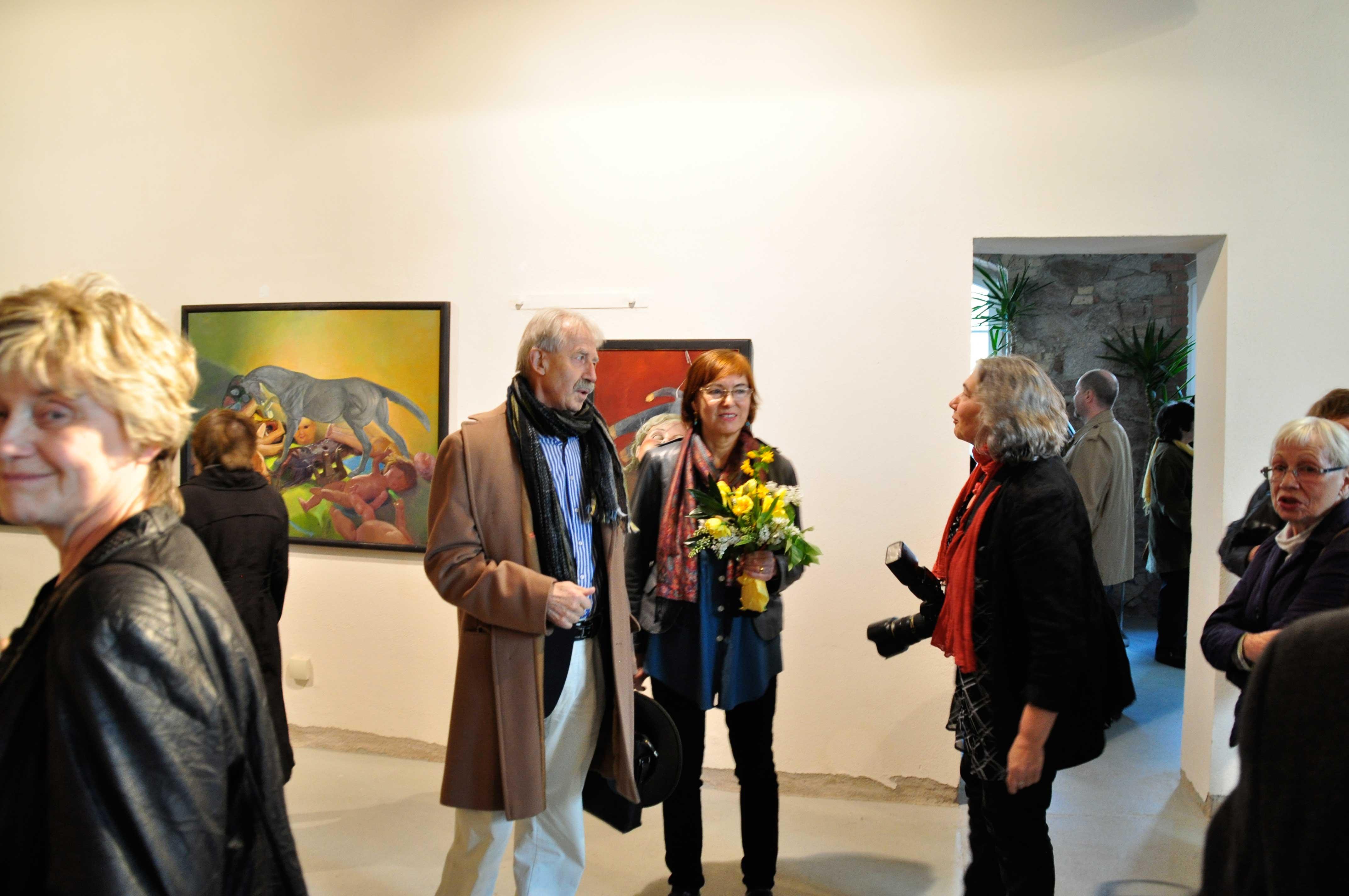 Vernissage der Ausstellung, © VG Bild-Kunst, Bonn