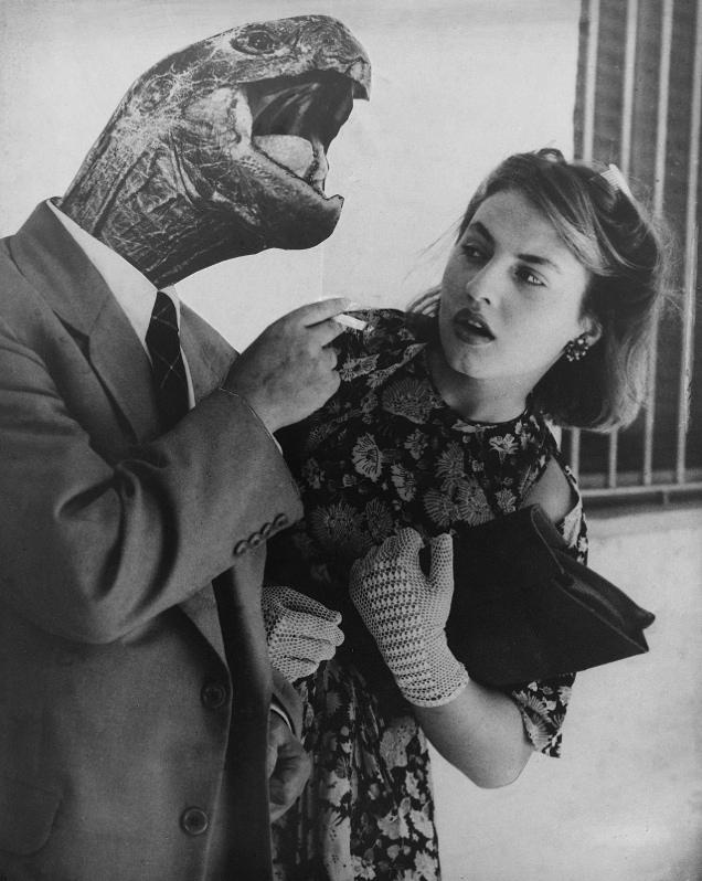 Grete Stern, Illusionslose Liebe, aus: Los Sueños (Träume), 1950 © The Grete Stern Foundation. Courtesy of Galería Jorge Mara - La Ruche, Buenos Aires